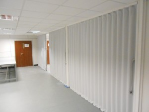 Finished Room Partition for Thermo Scientific