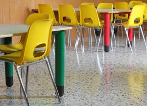 Open plan classrooms have a negative effect on learning